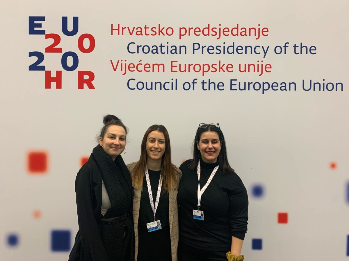 EU Youth Conference in Zagreb, Croatia