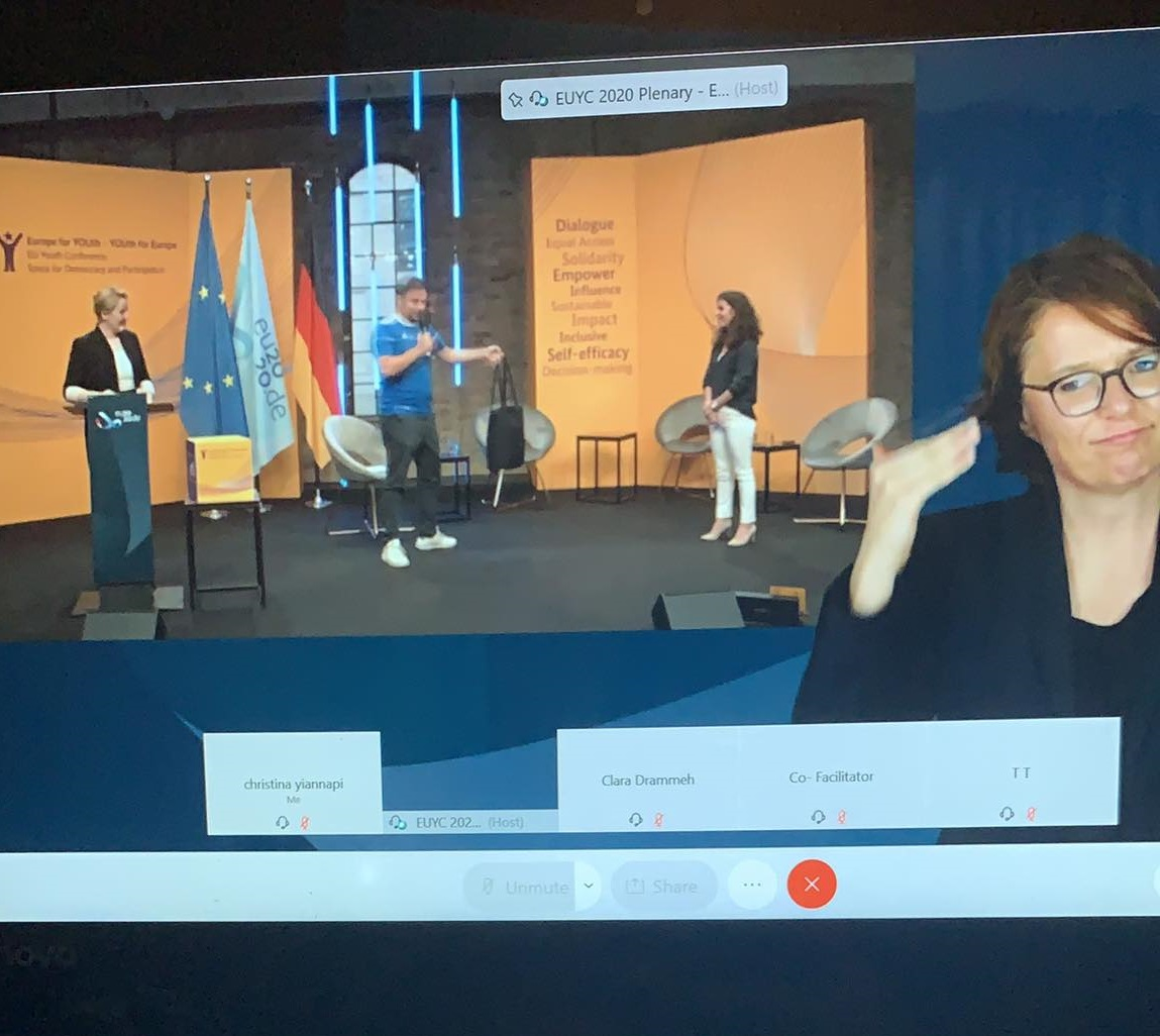 """""""We demand co-decision-making processes on all levels with young people and youth organisations"""" – EU Youth Conference Berlin"""