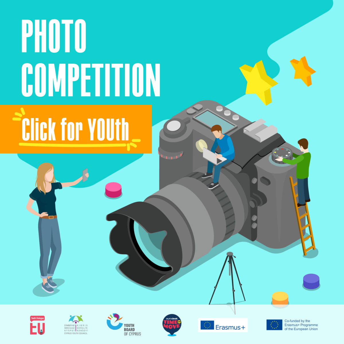 """Photo Competition in the context of the """"EU Youth Dialogue"""" Topic: """"Click forYOUth"""""""